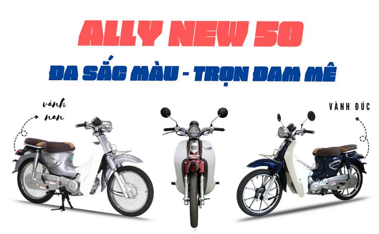 xe máy ALLY tại Nghệ An